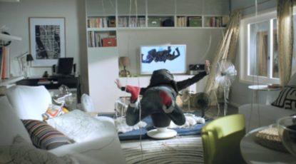 IKEA – Njut – Le saut en parachute